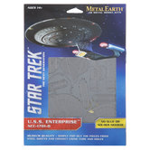 Star Trek U.S.S. Enterprise Metal Earth 3D Model Kit
